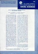 The Bobbs-Merrill Reprint Series in the Social Sciences