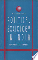 Political Sociology in India