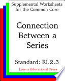 CCSS RI.2.3 Connection Between a Series Each Epacket Has Reproducible Worksheets With Questions Problems