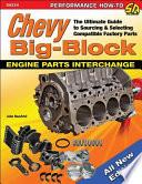 Chevy Big Block Engine Parts Interchange