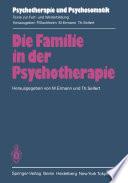 Die Familie In Der Psychotherapie