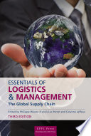 Essentials of Logistics and Management  Third Edition