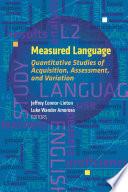 Measured Language