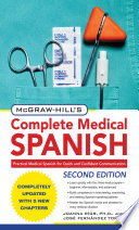 McGraw Hill s Complete Medical Spanish