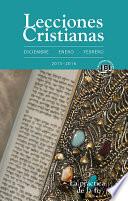 Lecciones Cristianas libro del alumno trimestre de invierno 2015 2016