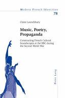 Music  Poetry  Propaganda