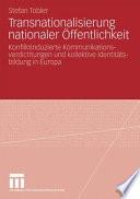 Transnationalisierung nationaler Öffentlichkeit