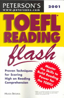 TOEFL Reading Flash