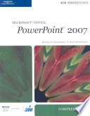 New Perspectives on Microsoft Office PowerPoint 2007  Comprehensive