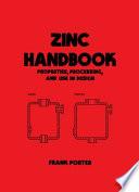 Zinc Handbook book