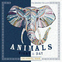 Animals Night And Day Colouring Book : animal with this new extreme colouring book. animals...