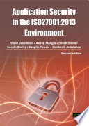 Application security in the ISO27001 2013 Environment