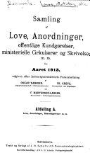 Samling af love