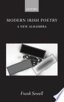 Modern Irish Poetry  A New Alhambra