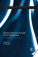 Teacher Education through Active Engagement