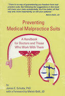 Preventing Medical Malpractice Suits