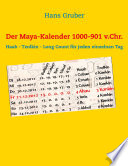 Der Maya-Kalender 1000-901 v.Chr
