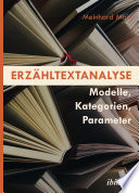 Erzähltextanalyse [German-language Edition]