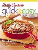 Betty Crocker s Quick   Easy Cookbook