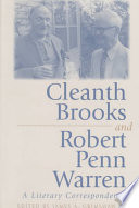 Cleanth Brooks and Robert Penn Warren