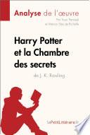 Harry Potter et la Chambre des secrets de J  K  Rowling  Analyse de l oeuvre