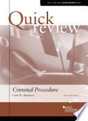Quick Review of Criminal Procedure