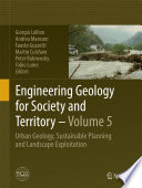 Engineering Geology for Society and Territory   Volume 5