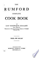 The Rumford Complete Cook Book