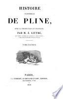 Historia naturelle de Pline  avec la traduction en fran  ais par E  Littr