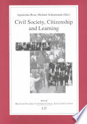 Civil Society, Citizenship and Learning