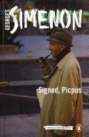 Signed, Picpus Paris To Nice In Book Twenty Three Of