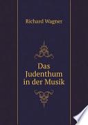 Das Judenthum in der Musik