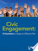 Civic Engagement  10 Questions to Shape an Effective Plan