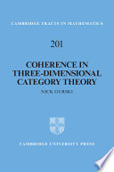 Coherence in Three Dimensional Category Theory