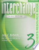 Interchange Teacher s Resource