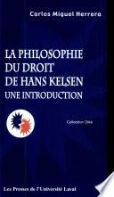 La philosophie du droit de Hans Kelsen