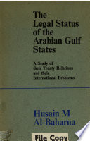 The Legal Status of the Arabian Gulf States