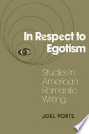 In Respect to Egotism