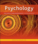 Pack  Psychology  The Science of Mind and Behaviour   Connect Online