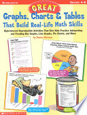 great graphs charts tables that build real life math skills