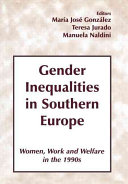 Gender Inequalities in Southern Europe