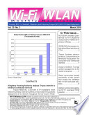 Wi Fi Wlan Monthly Newsletter March 2010