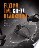 Flying the SR 71 Blackbird Book PDF