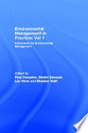 Environmental Management in Practice  Vol 1