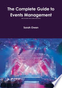 The Complete Guide to Events Management  updated August 2013