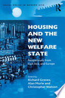 Housing And The New Welfare State book