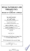 Special pathology and therapeutics of the diseases of domestic animals