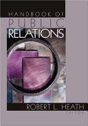 Handbook of Public Relations