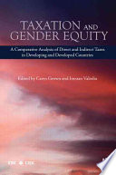 Taxation and Gender Equity