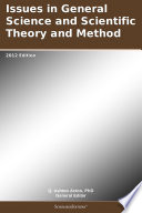 Ebook Issues in General Science and Scientific Theory and Method: 2012 Edition Epub N.A Apps Read Mobile